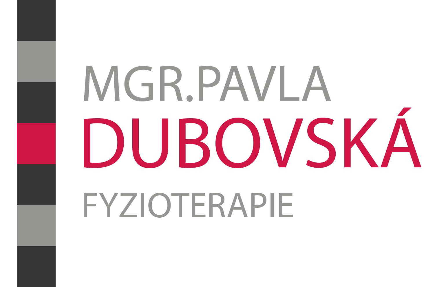 Mgr. Pavla Dubovská - fyzioterapie Znojmo
